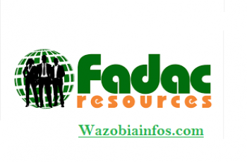 Fadac Resources and Services Recruitment 2020