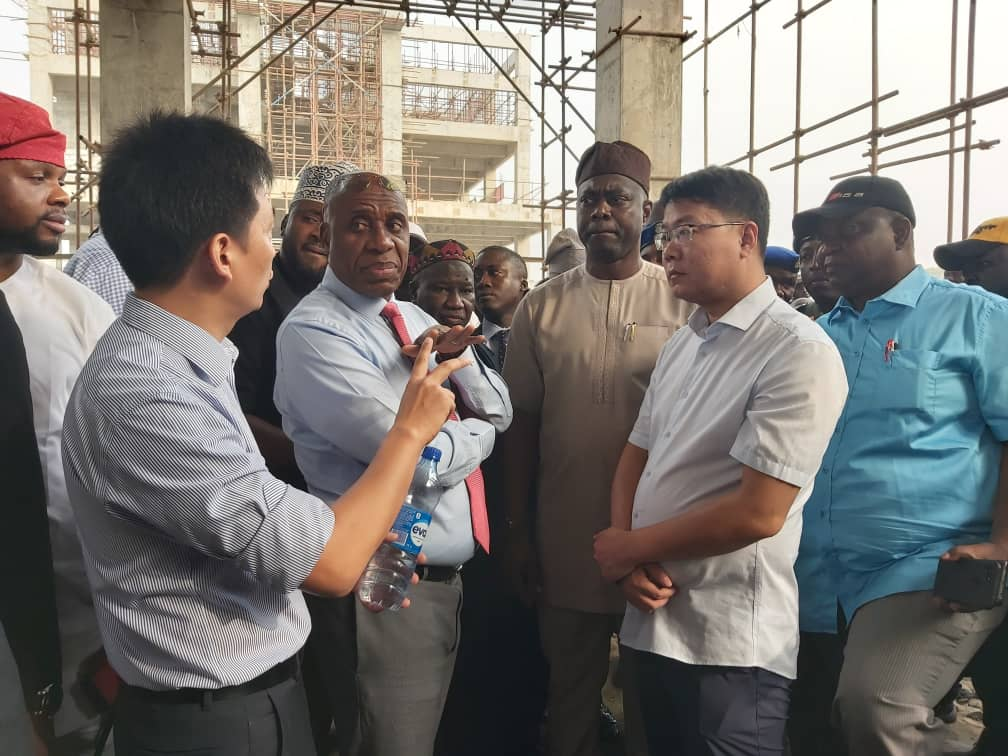 Rotimi Amaechi, Gov. Seyi Makinde and Others Inspects Lagos-Ibadan Rail Line