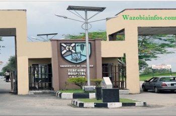 University of Calabar Teaching Hospital Recruitment 2020