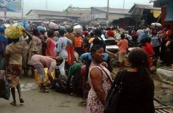 Traders Ignores Wike's Ban on Buying and Selling at Oil Mill Market