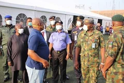 Coronavirus: Governor Wike Inspects Ongoing Construction of 250-Bed Isolation Centre in Port Harcourt