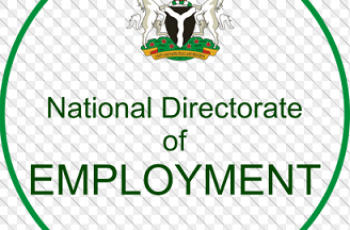 National Directorate of Employment Recruitment 2020/2021