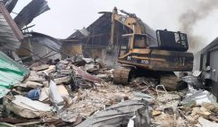 Gov. Wike Demolishes Two Hotels for Flouting Lockdown Order in Rivers State
