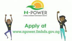 Npower 2020 Registration Form Portal www.npower.fmhds.gov.ng