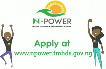 Npower 2020 Registration Form Portal www.npower.fmhds.gov.ng