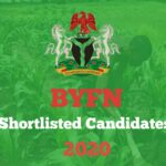 BYFN Shortlisted Candidates List 2020 – How to Check Buhari Young Farmers Network List