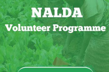 How to Register for NALDA Volunteer Programme