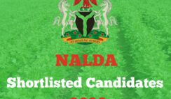NALDA List of Shortlisted Candidates 2020 - How to Check Your Name on NALDA Portal