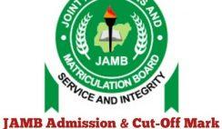 JAMB 2020 Cut Off Mark for All Schools