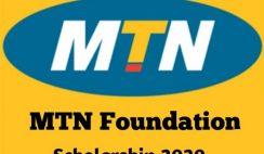 MTN Foundation 2020 Scholarship Application Form - Apply Now
