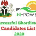 N-Power 2020 Successful Shortlisted Candidates List – Check Here www.npower.fmhds.gov.ng