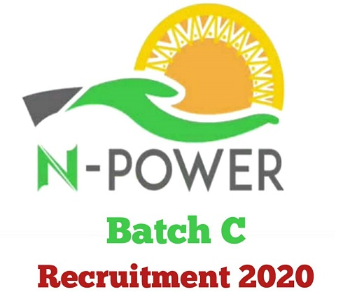 N-Power Batch C Recruitment 2020 - Application Form & How to Apply Online