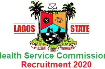 Lagos State Health Service Commission Massive Job Recruitment 2020