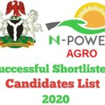 N-Power Agro 2020 List Of Successful Candidates for Batch C – Check Here www.npower.fmhds.gov.ng