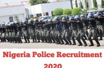 Nigeria Police Constable Recruitment 2020