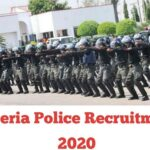 Nigeria Police Recruitment 2020 – Application Form Portal & How to Apply Online