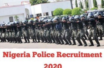 Nigeria Police Recruitment 2020 - Application Form Portal & How to Apply Online