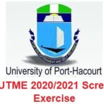 UNIPORT Post-UTME 2020/2021 Screening Form is Out – Apply Now