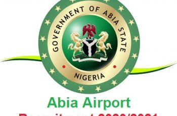 Abia State Airport Job Recruitment 2020/2021 - Application Form & How to Apply Online