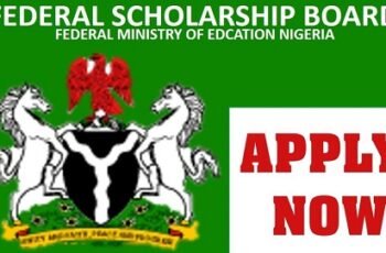 Nigeria Award Scholarship 2020/2021 - Federal Government Scholarship Awards Tenable In Nigeria Tertiary Institutions