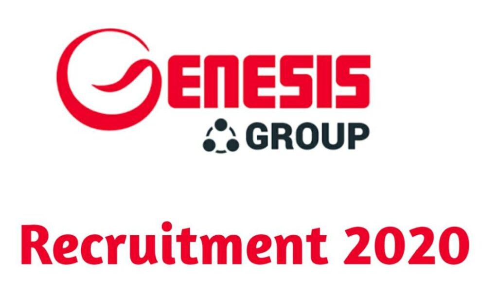 Genesis Group Massive Job Recruitment 2020