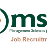 Management Sciences for Health (MSH) Job Recruitment 2020 – Apply Now