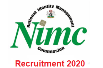National Identity Management Commission (NIMC) Recruitment 2020 - Apply Now