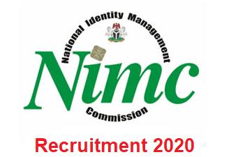 National Identity Management Commission (NIMC) Recruitment 2020 - Apply Now