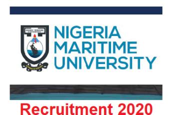 Nigeria Maritime University (NMU) Academic & Non-academic Job Recruitment 2020