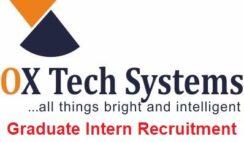 Ox Tech Systems Graduate Intern Recruitment 2020 - Apply Now