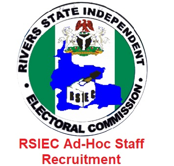 RSIEC Ad-Hoc Staff Recruitment 2020/2021 - Application Form & How to Apply