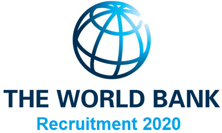 World Bank Group Job Recruitment 2020