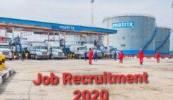 Matrix Energy Group Graduate Trainee Job Recruitment 2020 - Apply Now