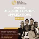 Africa Initiative for Governance (AIG) Scholarships 2021/2022 for Study at University of Oxford (Fully Funded)