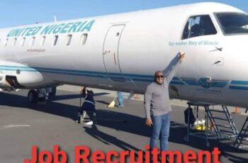 United Nigeria Airlines Massive Job Recruitment 2020 - Apply Now
