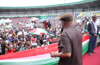 EDO GUBER: Tell Security Agencies to Protect Collation Centres - Wike
