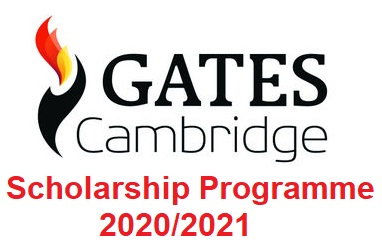 Gates Cambridge Fully Funded Scholarship Programme 2020/2021 - Apply Now