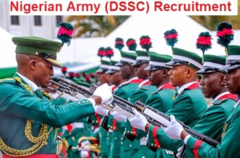 Nigerian Army (DSSC) Nationwide Massive Job Recruitment 2020