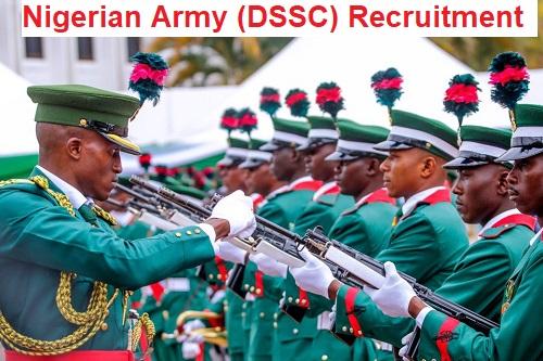 Nigerian Army (DSSC) Nationwide Massive Job Recruitment 2020