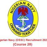 Nigerian Navy (DSSC) Nationwide Massive Job Recruitment 2020 – Apply Here
