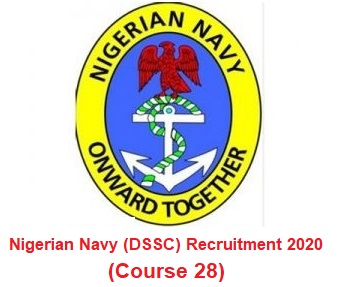Nigerian Navy (DSSC) Nationwide Massive Job Recruitment 2020 - Apply Here