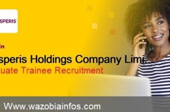Prosperis Holdings Company Limited Graduate Trainee Recruitment 2020 - Apply Now