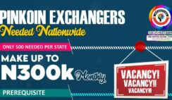 VACANCY: Inksnation Exchangers Needed Nationwide - Apply Now