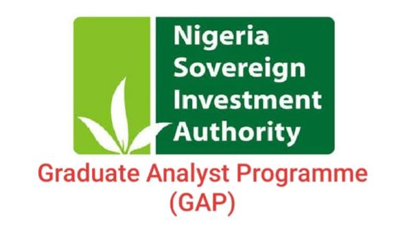Nigeria Sovereign Investment Authority (NSIA) Graduate Analyst Programme (GAP)