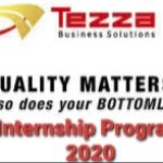 Tezza Business Solutions Limited Internship Program 2020 – Apply Now