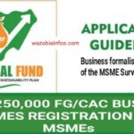 FG Free 250,000 New Business Names with CAC Registration Portal Opens for Application – Apply Now