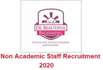 Beautiful Beginning School (DBB) Non Academic Staff Recruitment 2020