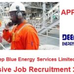Deep Blue Energy Services Limited Massive Job Recruitment 2020 – Apply Now