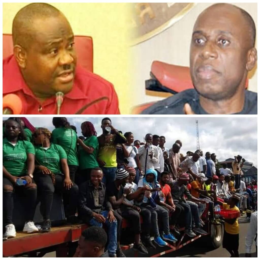 #EndSARS: Leave Amaechi Alone, Face the Youths Your Maladministration Has Left Unemployed - Eze tells Wike