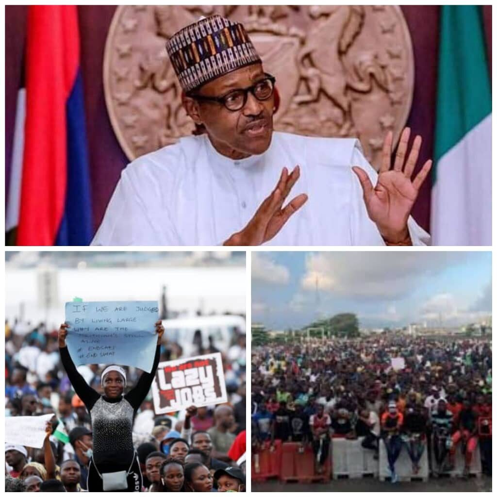 #EndSARS Protest: Eze Condoles Nigerians Over Wanton Destruction, Deaths, Alleges Plot to Derail Democracy